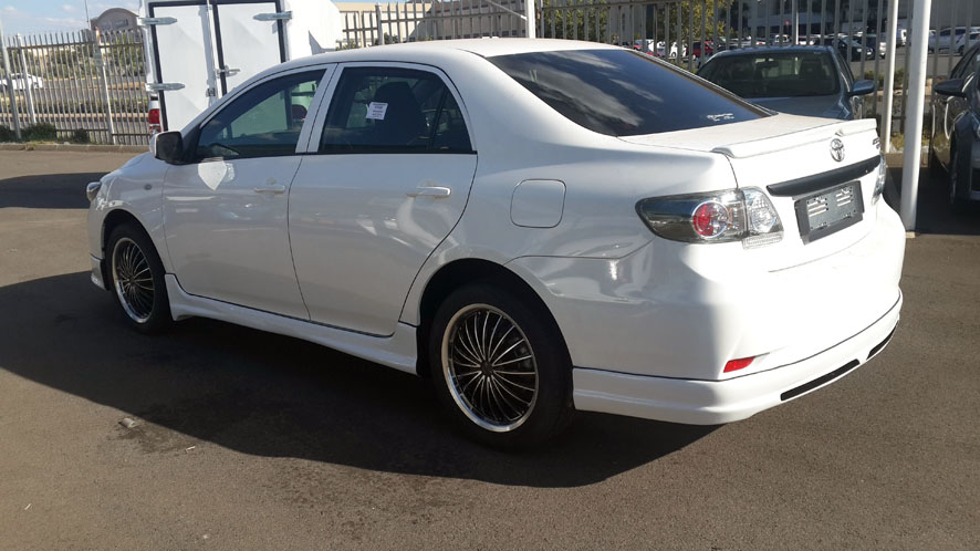 toyota corolla quest boot spoiler custom body kits. Black Bedroom Furniture Sets. Home Design Ideas