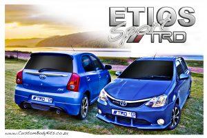 Full Etios TRD Body Kit
