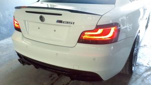 BMW 1 Series Rear Bumper