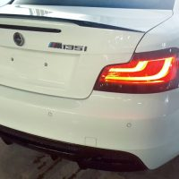 BMW 1 Series Boot Spoiler