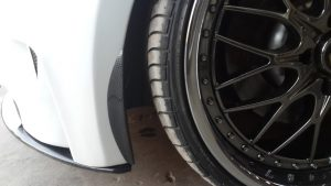 BMW 1 Series Front Canard