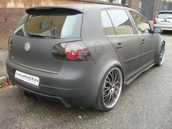 Golf 5 GTI Type R Body Kit Rear 3/4 View