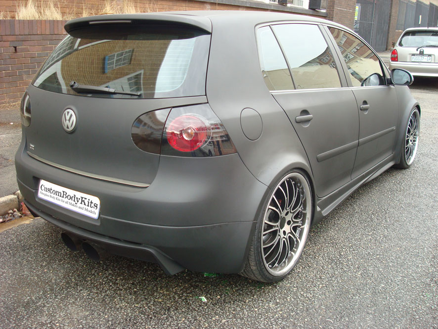 vw golf 5 gti full body kit custom body kits. Black Bedroom Furniture Sets. Home Design Ideas