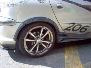 Peugeot Rear Wheel Arch