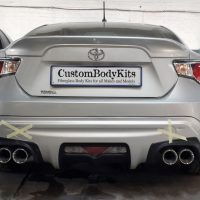 Toyota FT86 Rear View