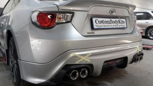 Toyota FT86 Rear Bumper