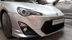 Toyota FT86 Front spoiler