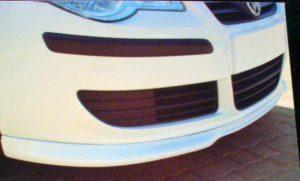 VW Polo N9 Front Bumper