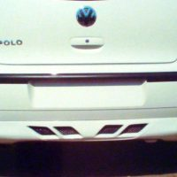 VW Polo N9 Rear Bumper