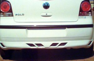VW Polo N9 Rear Bumper