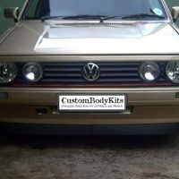 VW Golf 1 Eyelids straight