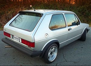 VW Golf 1 Kamei Roof Spoiler
