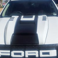 Ford Raptur Bonnet Scoup