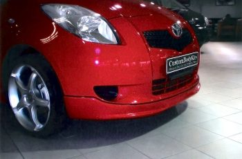 Yaris Front Bumper Spoiler Right View