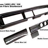 Nissan 1400 LDV Dashboard