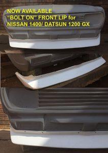 Datsun 1400 Bolt on Lip