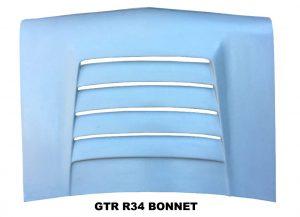 Nissan LDV GX GTR R34 Fibreglass Bonnet