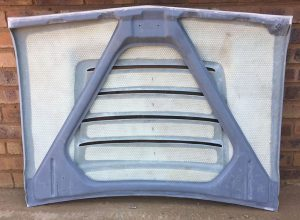 Nissan LDV GX Bonnet Under Side