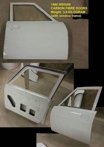 Nissan 1400 Replacement Doors