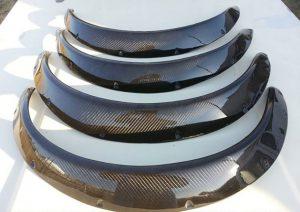 Nissan 1400 CarbonFibre Wheel Arches