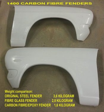 Nissan 1400 Front Right Std Fenders