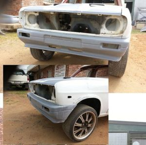 Nissan 1400 Replacement Front Bumper