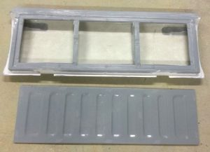 Nissan 1400 Tailgate assembly