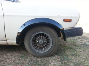 Nissan 1400 Front Wheel Arches