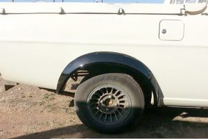 Nissan 1400 Rear Wheel Arches