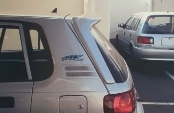 Tazz Long Leg Roof Spoiler