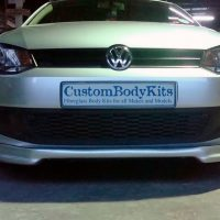 VW Polo 6 Bumper Splitter
