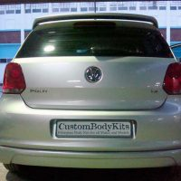 VW Polo 6 Rear Apron