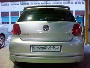 VW Polo 6 Rear Apron