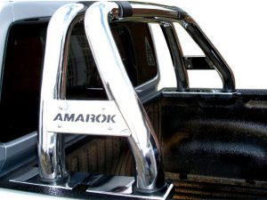VW Amarok 2010 - 2020 Low Sports Bar Stainless Steel