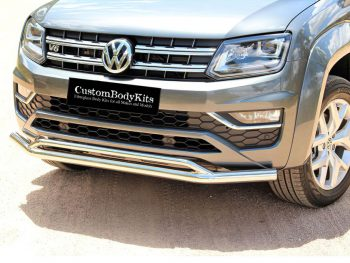 VW Amarok 2017 - 2020+ Front Styling Bar Stainless Steel