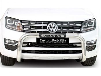 VW Amarok 2010 - 2020+ Nudge Bar PDC Friendly Stainless Steel