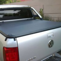 VW Amarok 2010 - 2020+ Double Cab Clip On Tonneau Cover (For Rollbars)