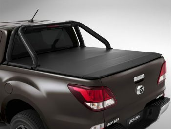 Mazda BT50 Facelift 2017 - 2020+ Double Cab Clip On Tonneau Cover (for Rollbar)