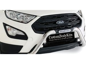 Ford EcoSport 2018 2020+ (Facelift) Nudge Bar Stainless Steel