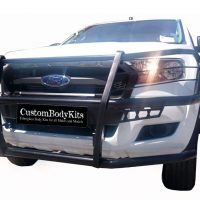 Ford Ranger 2016 - 2020+ Full Face Bullbar Black Coated