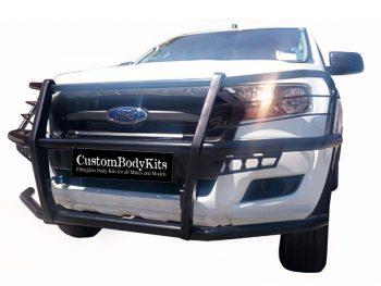 Ford Ranger 2016 - 2020+ Full Face Bullbar Black Coated