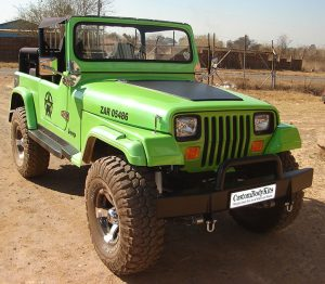 Jeep CJ-7 Fibreglass Replica