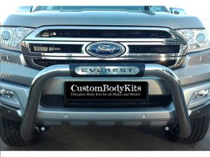 Ford Everest 2016 - 2020+ PDC Friendly Nudge Bar Stainless Steel