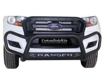 Ford Ranger 2016+ Fleet RangeTri Bumper 409 Stainless Steel PC Black