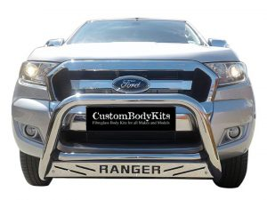 Ford Ranger 2016 - 2020+ Nudge Bars Stainless Steel