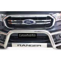 Ford Ranger 2016 - 2020+ Tri Bumper TILT Range Stainless Steel