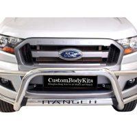 Ford Ranger 2016 - 2020+ Tri Bumper Stainless Steel