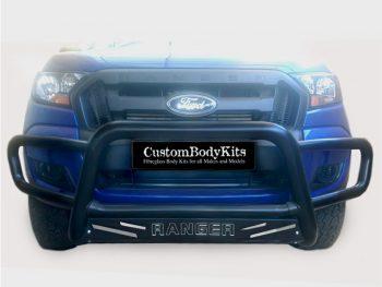 Ford Ranger 2016+ Nudge Bar - Wrap Around Black