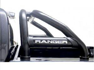 Ford Ranger 2012 - 2020+ Rollbar (Sports Bar) 409 Stainless Steel PC Black