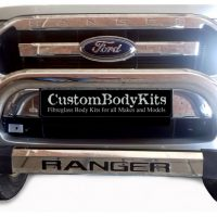 Ford Ranger 2016 - 2020+ Nudge Bar TILT Range Stainless Steel